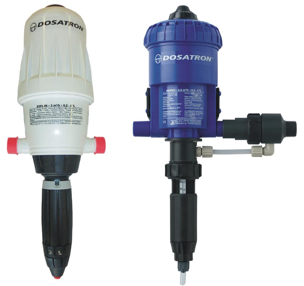 Dosatron proportional dispenser