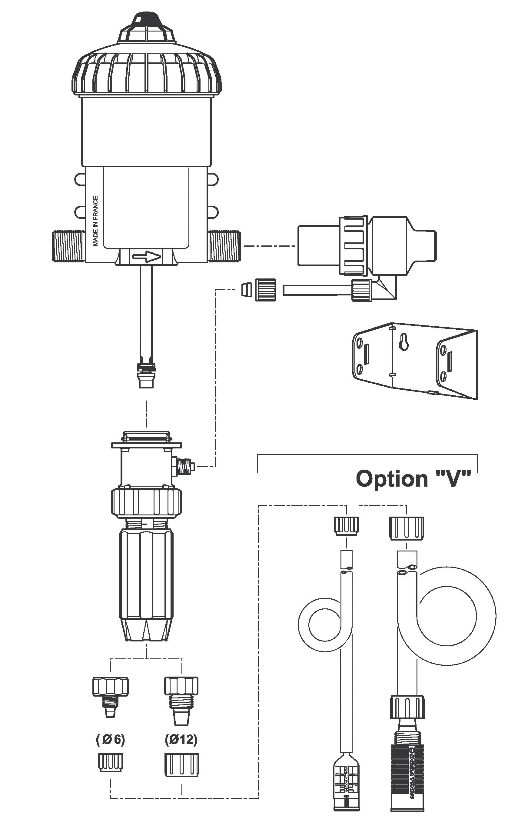 Dosatron spare parts